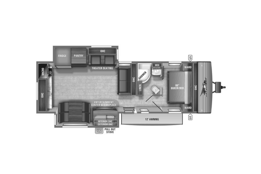 Floor plan for STOCK#M1TG0055